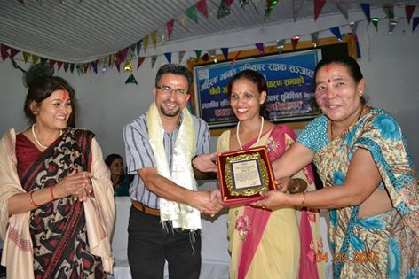 Human rights work recognised