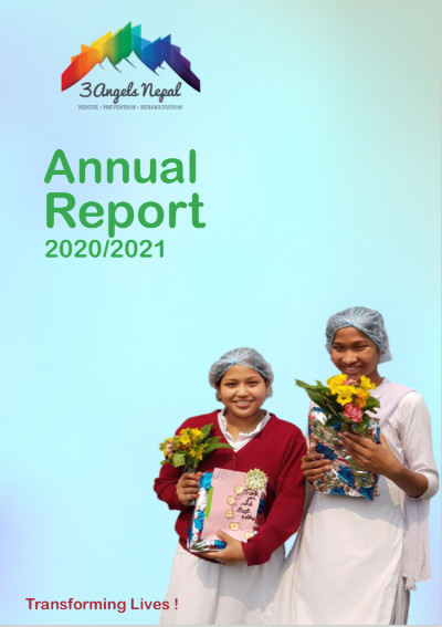 anual report front